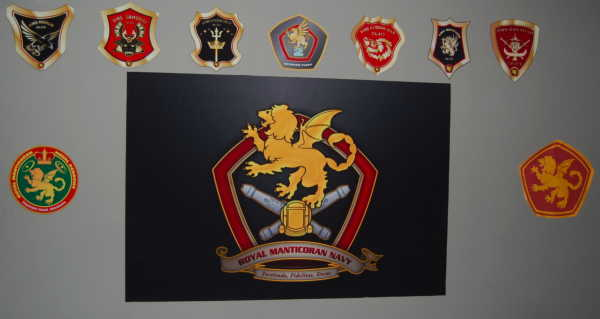 Second Fleet Ship Crests